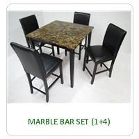 MARBLE BAR SET (1+4)